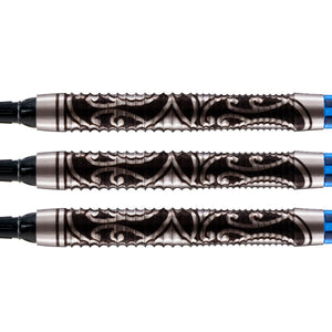 Warrior Tipu Soft Tip Dart Set-80% Tungsten - Shot Darts New Zealand
