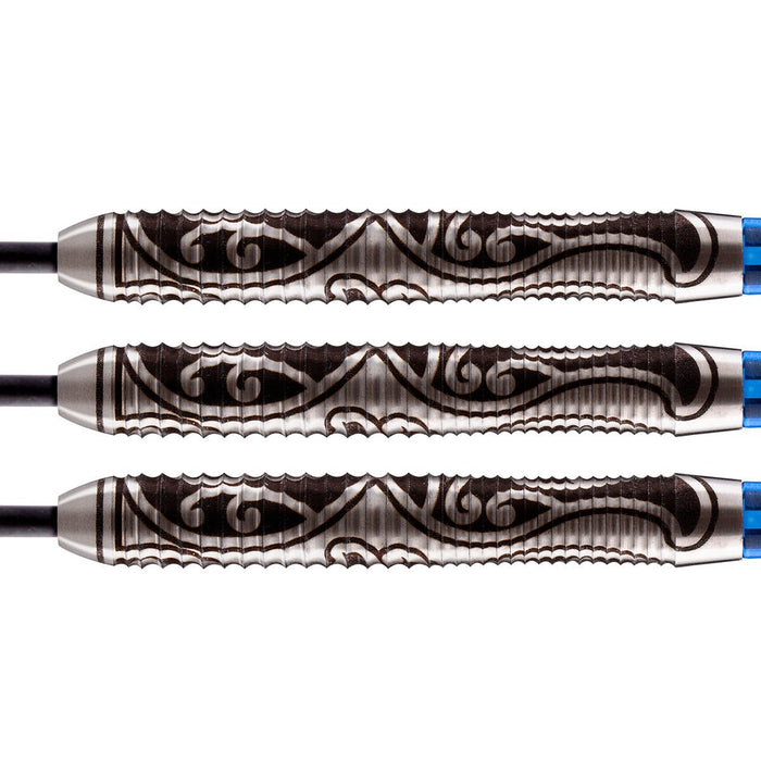 Warrior Tipu Steel Tip Dart Set-80% Tungsten - Shot Darts New Zealand