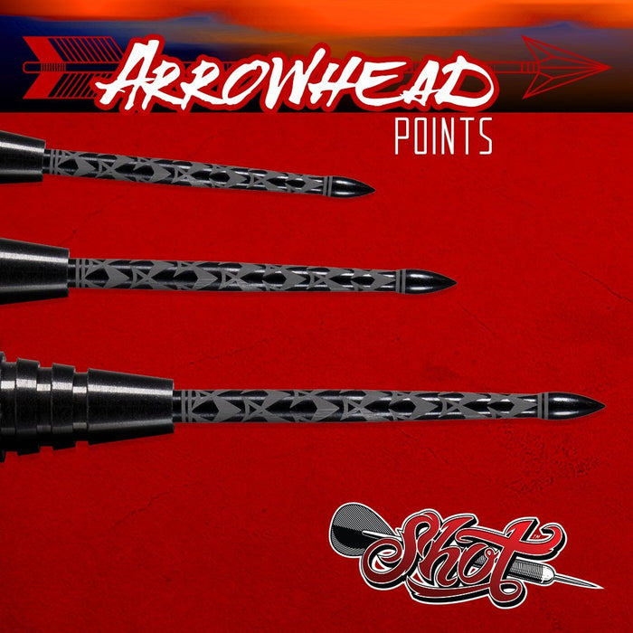 Shot Darts Arrowhead Point - Shot Darts