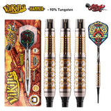 Viking Hammer Soft Tip Dart Set-90% Tungsten Barrels - Shot Darts New Zealand