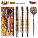Viking Hammer Steel Tip Dart Set-90% Tungsten Barrels - Shot Darts New Zealand