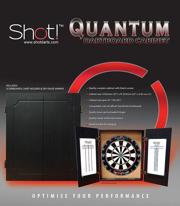 Shot Darts Quantum Cabinet - Shot Darts New Zealand