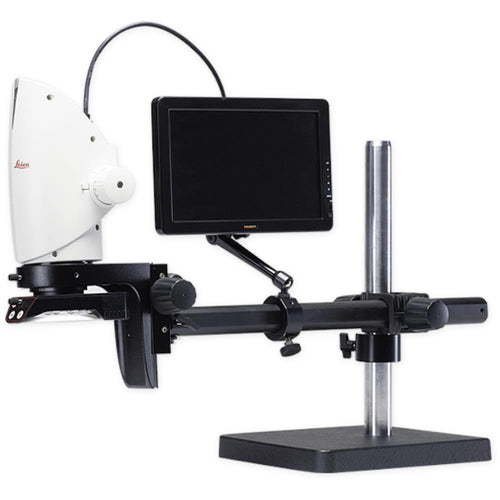 Leica DMS300 Boom Stand System with HD Monitor - MicroscopeHub