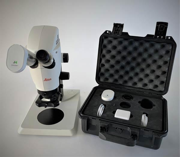 Optic-Clean UV Microscope Eyepiece Sanitizer Carry Case
