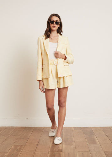 AARON TWEED BLAZER YELLOW