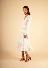 Load image into Gallery viewer, ADIA WOVEN DRESS WHITE