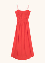 Load image into Gallery viewer, ALETTE WOVEN DRESS RED