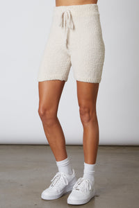 MID-LENGTH SWEATER SHORT