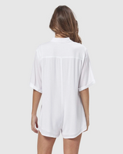 Load image into Gallery viewer, HARLOW PLAYSUIT WHITE