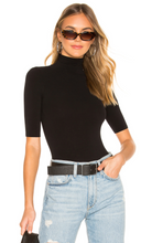 Load image into Gallery viewer, BALLET SHORT SLEEVE TURTLENECK BODYSUIT