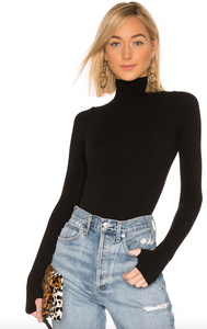 BALLET TURTLENECK BODYSUIT