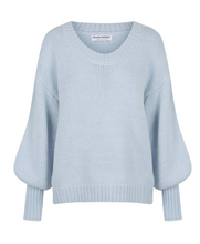 Load image into Gallery viewer, AUGUST KNIT SWEATER BABY BLUE