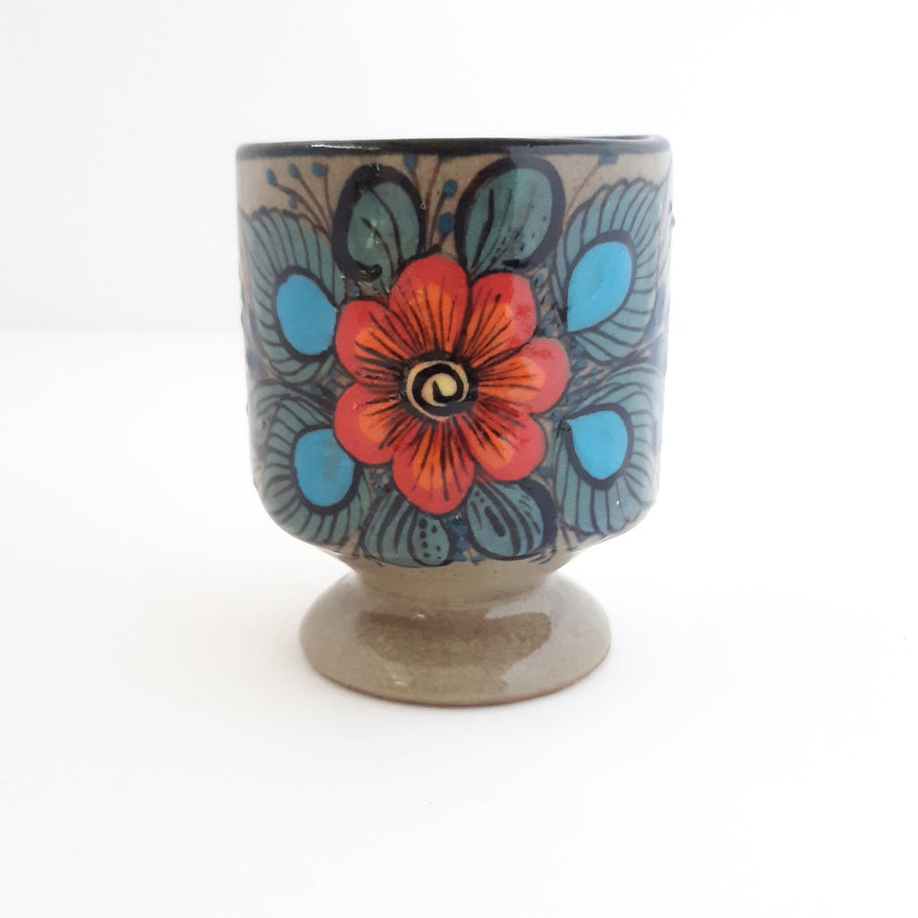Ceramic-goblet-soy-wax-scented-candle-handcrafted-Achiote