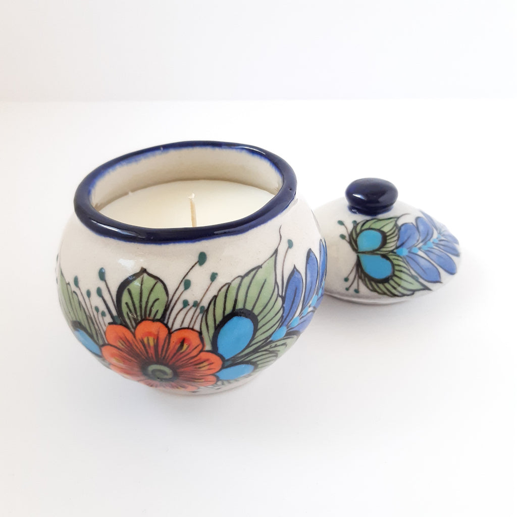 Ceramic-sugar-bowl-scented-candle-handcrafted-Achiote