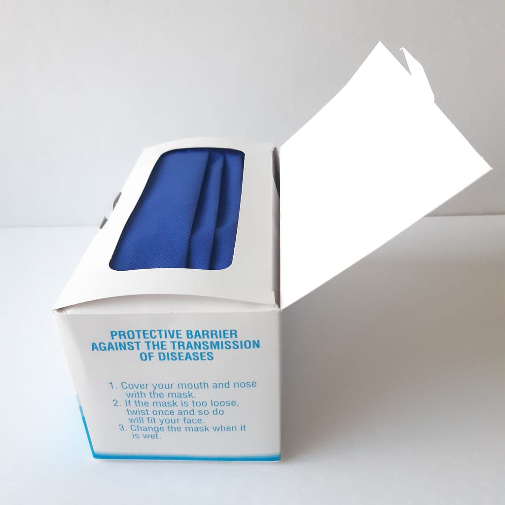 Face mask PP non-woven fabric 80GSM - 1 BOX/ 25 pieces