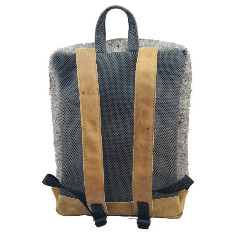 Wool & Leather Traditional Zaculeu Backpack