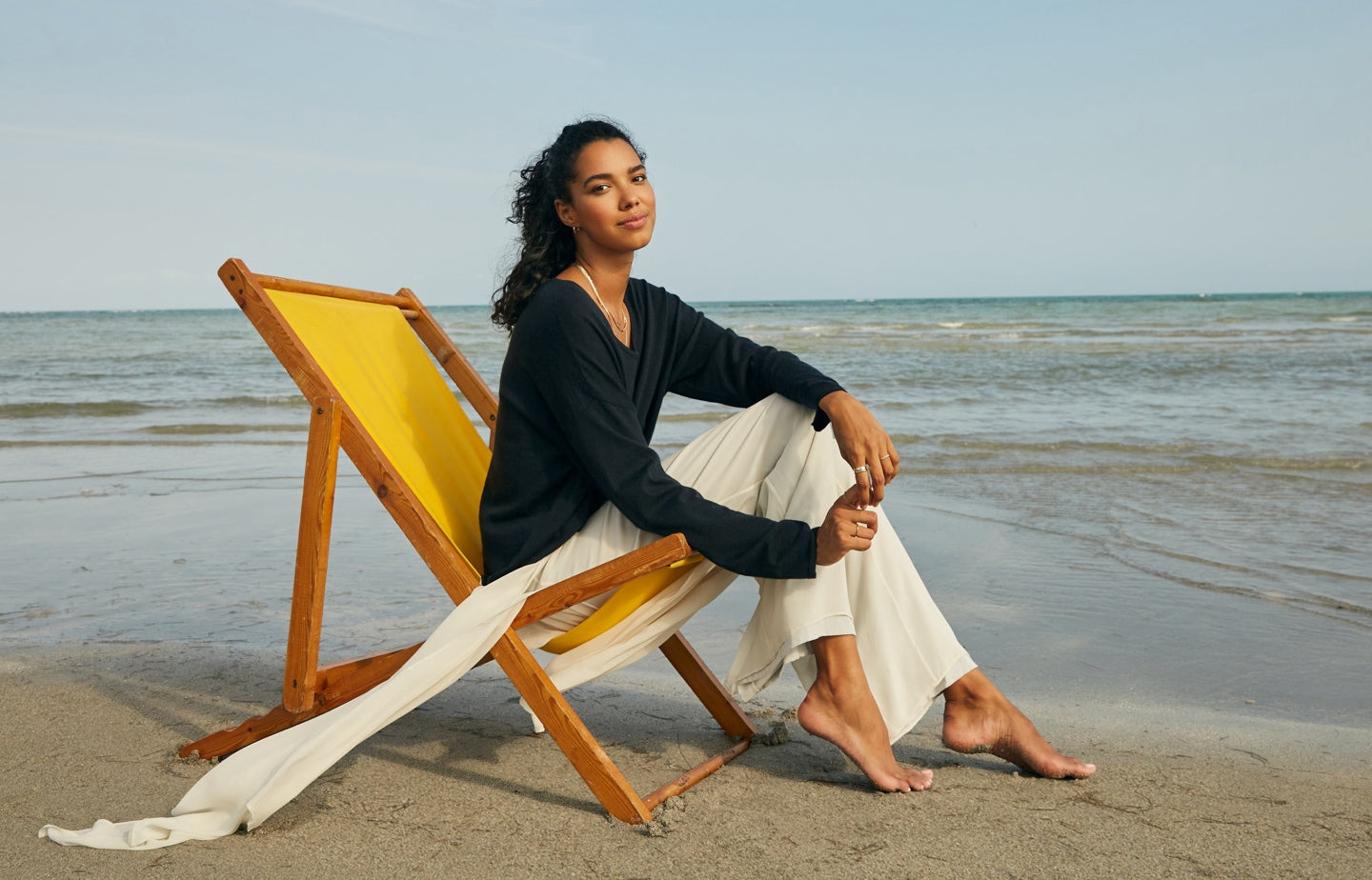 Women's Luxe Line Collection. Meet our highest quality cashmere knits.
