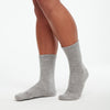 Signature Cashmere Socks Cement