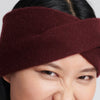Cashmere Twist Headband Plum