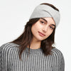Cashmere Twist Headband Cement