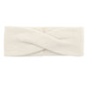 Cashmere Twist Headband White