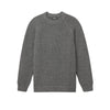Ribbed Crewneck Sweater Granite