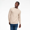 Ribbed Crewneck Sweater Oatmeal