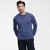 The Essential $75 Cashmere Sweater Mens Blue Horizon