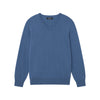 The Essential $75 Cashmere V-Neck Sweater Mens Blue Horizon
