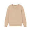 The Essential $75 Cashmere V-Neck Sweater Mens Camel