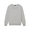 The Essential $75 Cashmere V-Neck Sweater Mens Cement
