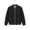 Wool Cashmere Reversible Bomber Jacket Navy