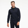 Fleece Quarter Zip Sweatshirt Heather Navy