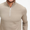 Fleece Quarter Zip Sweatshirt