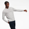 Ultralight V-Neck Long Sleeve T-Shirt Cement