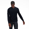 Ultralight V-Neck Long Sleeve T-Shirt Navy