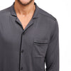 Pajama Button Up Shirt Set Granite