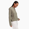 Cashmere Oversized Ribbed Hoodie
