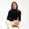 Cashmere Cropped Turtleneck