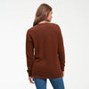 Cashmere Boyfriend Cardigan Walnut Brown