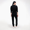 Recycled Cashmere Jogger Black