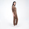 Recycled Cashmere Jogger Marled Brown