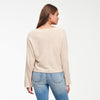 Cashmere Wide Sleeve V-Neck Sweater Oatmeal