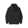 Cashmere Oversized Cowl Neck Sweater Smoke