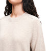 Recycled Cashmere Crewneck Sweater Oatmeal