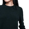 Recycled Cashmere Crewneck Sweater Pine Green