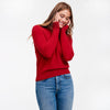 The Essential $75 Cashmere Sweater Womens Holly Red