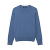 The Essential $75 Cashmere Sweater Womens Blue Horizon