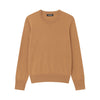 The Essential $75 Cashmere Sweater Womens Dark Ginger