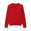 The Essential $75 Cashmere Sweater Mens Holly Red